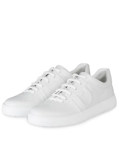 Salvatore Ferragamo Damen Sneaker - WEISS Verkauf Online-Shopping N5vAi