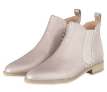 Chelsea-Boots - perlmutt