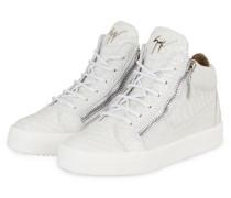 Hightop-Sneaker KRISS SNAKE - WEISS