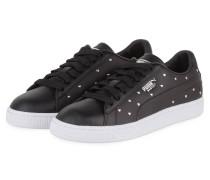 Sneaker BASKET STUDS - SCHWARZ/ SILBER