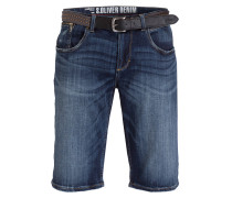 Jeans-Shorts TUBEX - blue denim stretch