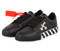 Sneaker LOW VULCANIZED - SCHWARZ