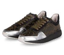 Plateau-Sneaker - OLIV/ SCHWARZ