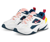 Sneaker M2K TEKNO - WEISS/ PETROL/ ROSA