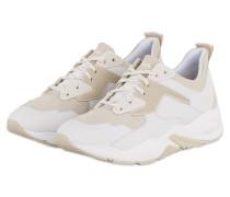 Plateau-Sneaker DELPHIVILLE - WEISS/ BEIGE
