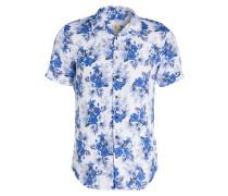 Halbarm-Hemd OLLY Slim-Fit aus Leinen