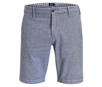 Chino-Shorts JAMES Slim-Fit - blaugrau