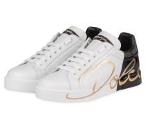Sneaker PORTOFINO - SCHWARZ/ WEISS