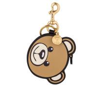Schlüssel- und Taschenanhänger - braun