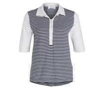 Poloshirt mit Cashmere-Anteil