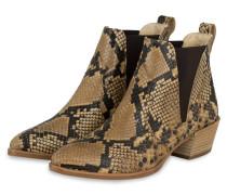 Chelsea-Boots - BEIGE/ DUNKELBRAUN