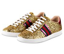Sneaker ACE - GOLD/ GRÜN/ ROT