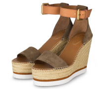 Wedges - ALGHE/ CUOIO