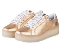 Plateau-Sneaker MARBLESEA - GOLD