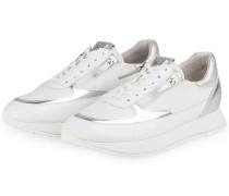 Sneaker - WEISS/ SILBER METALLIC