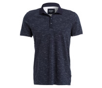 Poloshirt ANTEK - marine/ weiss meliert