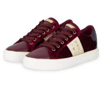 Sneaker GAMING - DUNKELROT/ GOLD