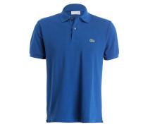 Piqué-Poloshirt Classic-Fit - blau