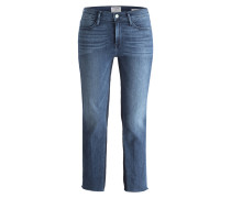 7/8-Jeans LE HIGH STAIGHT - blau