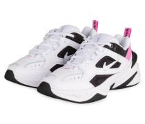 Sneaker M2K TEKNO - WEISS/ PINK/ SCHWARZ