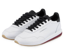 Sneaker - LL09 LEATHER LEATHER WHITE/BLACK