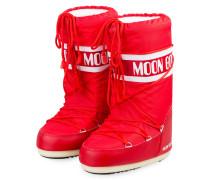 Moon Boots NYLON GLANCE - ROT