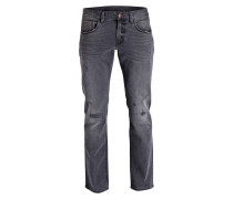 Destroyed-Jeans C-DENTON Straight-Fit