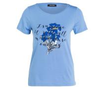 T-Shirt mit Strasssteinbesatz