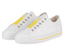 Slip-on-Sneaker - WEISS/ GELB