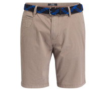 Chino-Shorts PLEK Loose-Fit - beige