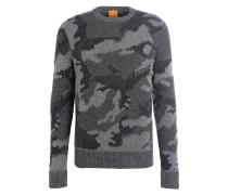 Pullover ARMIETO - dunkelblau/ grau