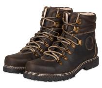 Trachten-Boots - BRAUN