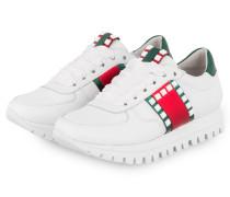 Sneaker FLOW - WEISS/ ROT/ GRÜN