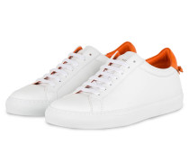 Sneaker URBAN STREET - WEISS/ ORANGE
