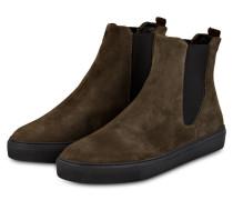 Chelsea-Boots SPARTACUS - DUNKELGRÜN