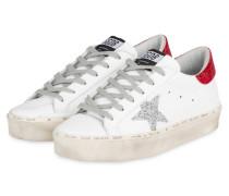 Plateau-Sneaker HI STAR - WEISS
