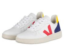 Sneaker V-10 - WEISS/ ROT/ BLAU