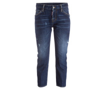 Cropped-Jeans COOL GIRL - dunkelblau