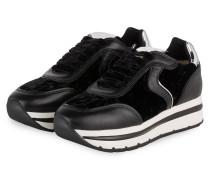 Plateau-Sneaker MAY - SCHWARZ