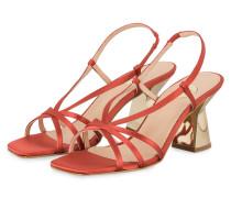 Sandaletten - HELLROT