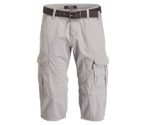 Cargo-Bermudas FILE Loose-Fit - grau