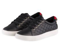 Sneaker LUDO mit Perlenbesatz - SCHWARZ