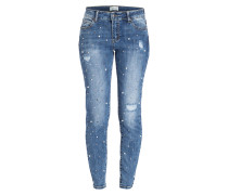 Skinny-Jeans - middle/blue/denim