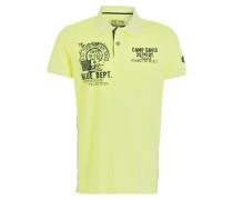 Piqué-Poloshirt - neongelb