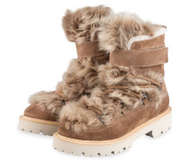 Boots JOE - HELLBRAUN