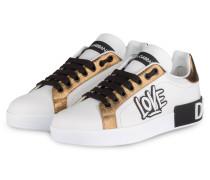 Sneaker LOVE - WEISS/ BRAUN