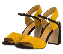 Sandaletten CAMOSCIO - GELB/ SCHWARZ