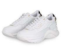 Plateau-Sneaker LUNAR EAGLE - WEISS