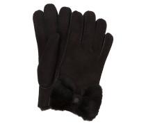 Lederhandschuhe BOW - schwarz