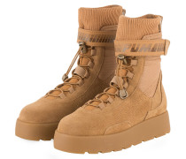 Plateau-Boots - BEIGE
